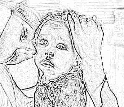 Ребенок с мамой - понос