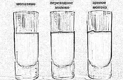 Молозиво и грудное молоко