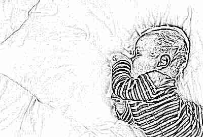 Ребенок спит один