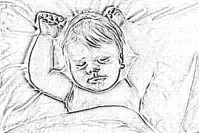 Отучение от сна ребенка ночью