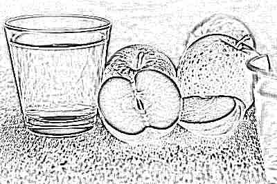 Яблочный компот как прикорм