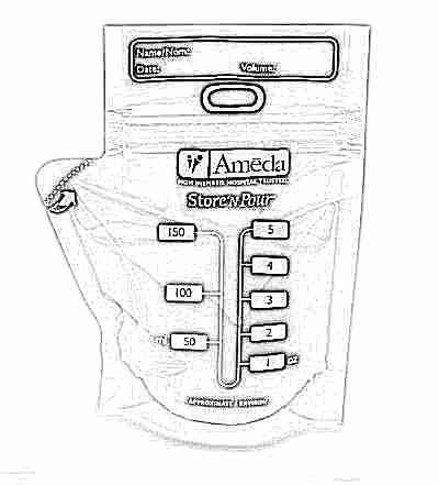 Пакеты для хранения грудного молока