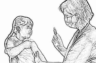 Побочный эффект от прививки