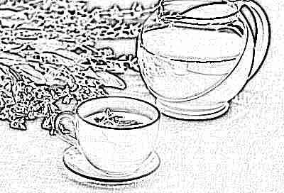 Чай из шалфея с медом