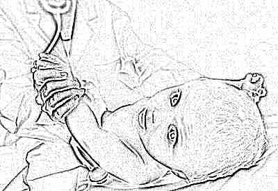 Ребенок с доктором