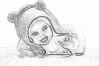 Красивый малыш