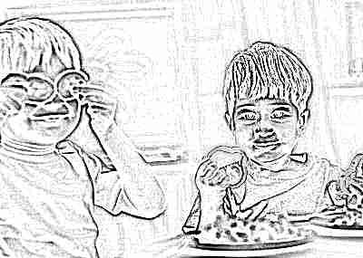 Питание детей овощами