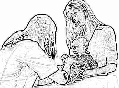 Врач назначает лечение от диатеза