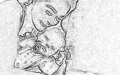 Малыш и мама вместе
