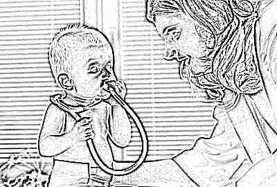 Ребенок и педиатр