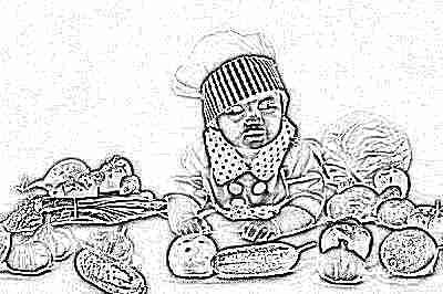 Продукты с пребиотиками в рационе ребенка