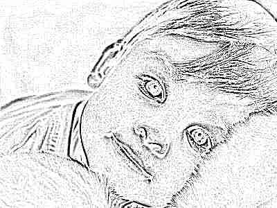 Красивый мальчик с карими глазами