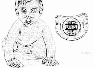 Измерение температуры у грудничков