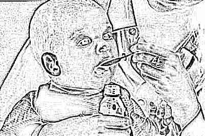 Температура у ребенка - сироп