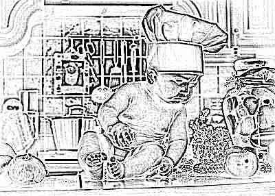 Ребенок 10 месяцев с продуктами