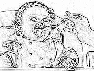 Прикорм ребенка 8 месяцев