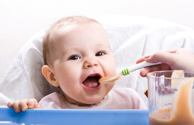Прикорм малыша в 7 месяцев