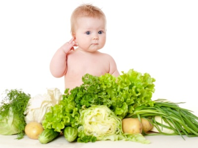 Прикорм ребенка в 7 месяцев овощами