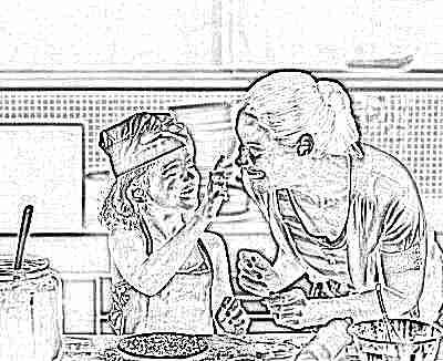 Приготовление еды и составление меню вместе с ребенком