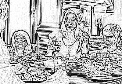 Правильное питание семьи с детьми