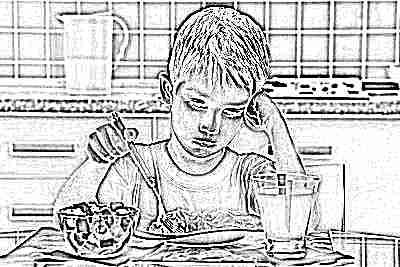 У школьника нет аппетита