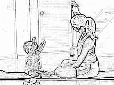 Гимнастика вместе с ребенком
