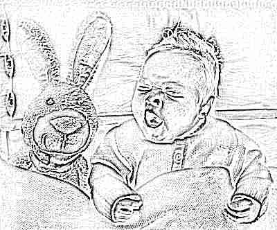 Ребенок 2 месяца спит с игрушкой