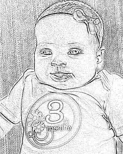 Девочка в 3 месяца