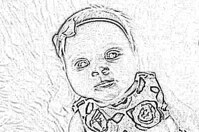 Красивая девочка в 3 месяца