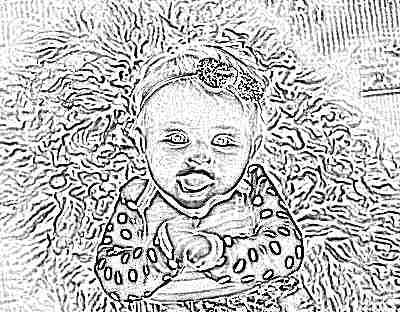 Ребенок 4 месяца улыбается маме