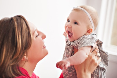 Мама и ребенок 4 месяца