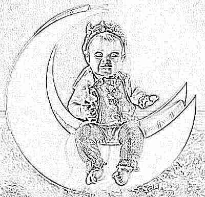 Девочка 7 месяцев