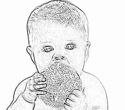 Зеленое яблоко для первого прикорма