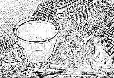 Гранатовый сок и гранат