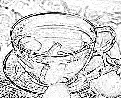 имбирь зеленый чай с лимоном для похудения