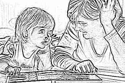 Развитие ребенка в 4 года - игры с мамой