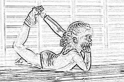Гимнастика для девочки в 4 года