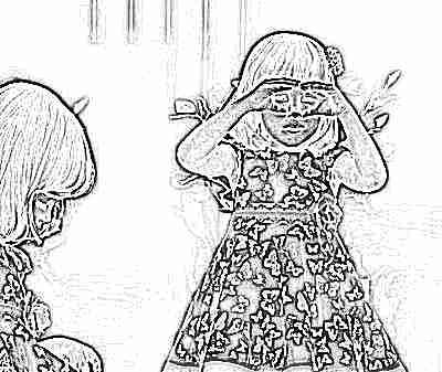Ребенок в 2,5 года в платье