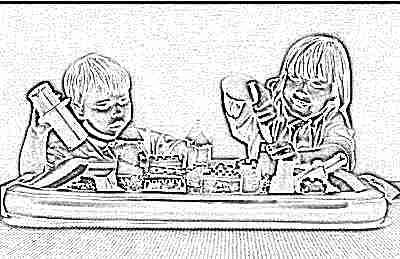 Кинетический песок для ребенка в 2,5 года
