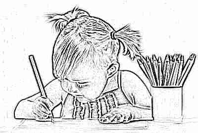 Ребенок рисует в 3 года