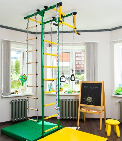 Шведская стенка для ребенка в 3 года
