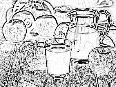 Яблочный кисель для ребенка