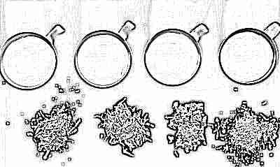 Разный виды чая