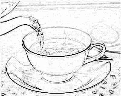 Слабо заваренный чай для ребенка 3 лет
