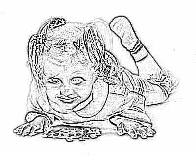 Ребенок с витаминами