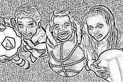 Спорт у детей