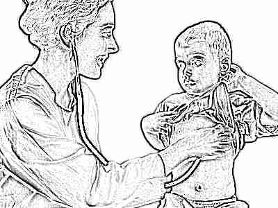 Ребенок 5 лет у врача