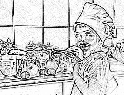 Сбалансированное питание с витаминами для ребенка