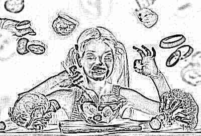 Сбалансированное питание ребенка в 6 лет