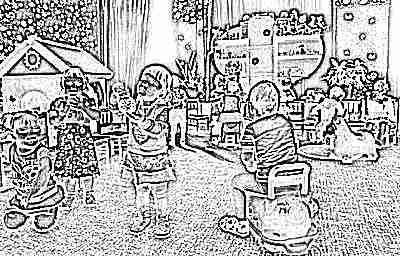 Ребенок в садике